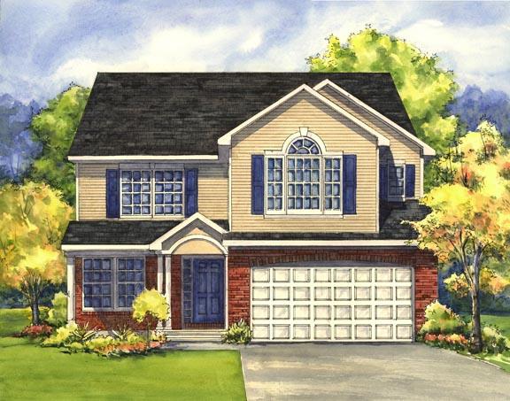 Front Elevation Rendering : Front elevation renderings houses plans designs