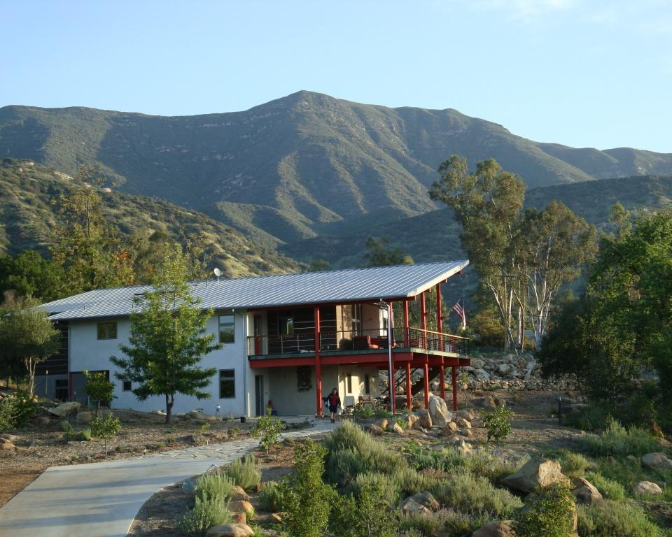 Ojai new construction green home