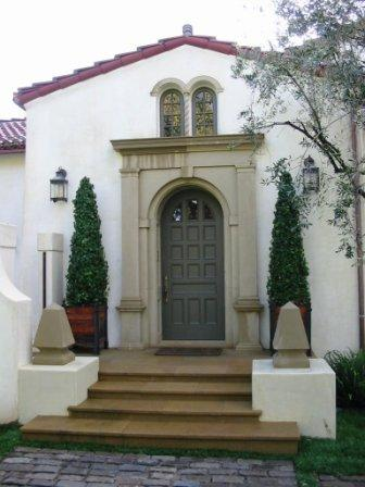 Front door after re build
