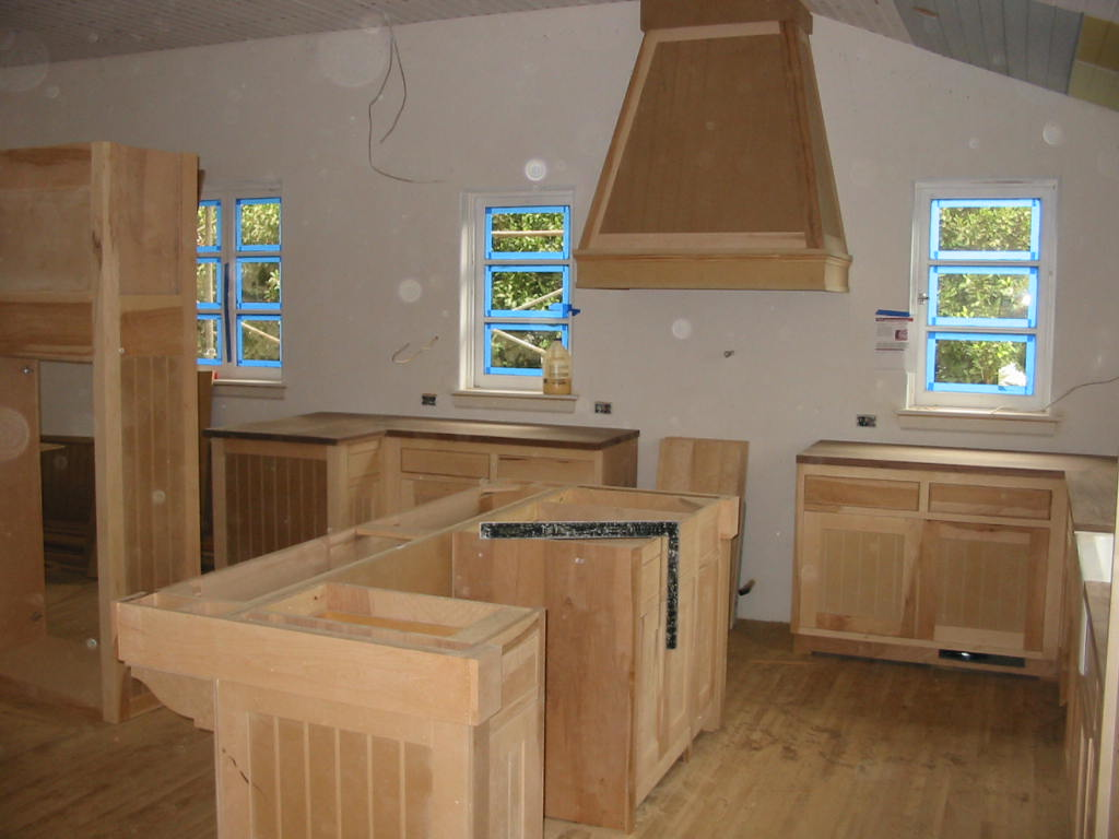 Kitchen cabinets - rough install
