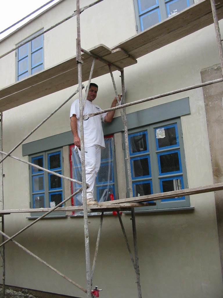 Santa Monica Gut Remodel - exterior painting