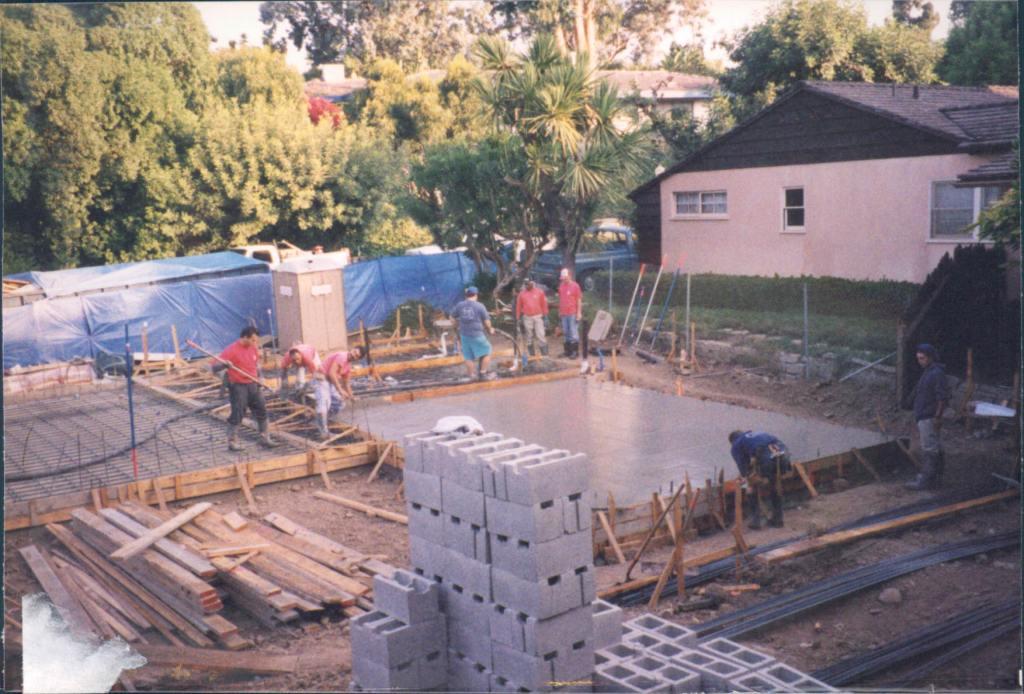New_Custom_Home_Pacific_Palisades_Concrete_Slab_Installtion