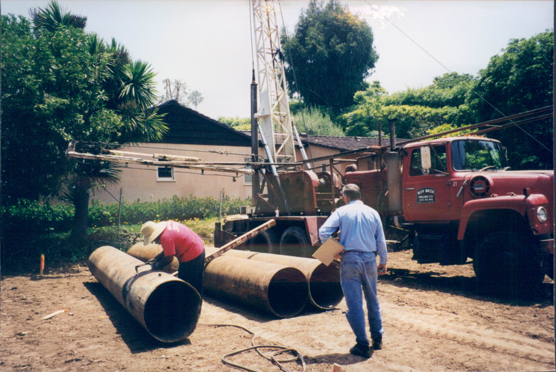 New_Custom_Home_Pacific_Palisades_Pipe_Trenching