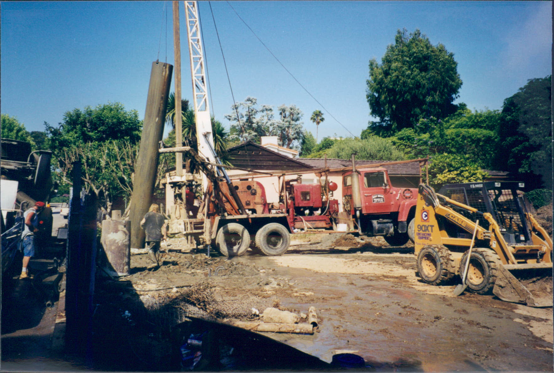 New_Custom_Home_Pacific_Palisades_Pipe_Trenching_2
