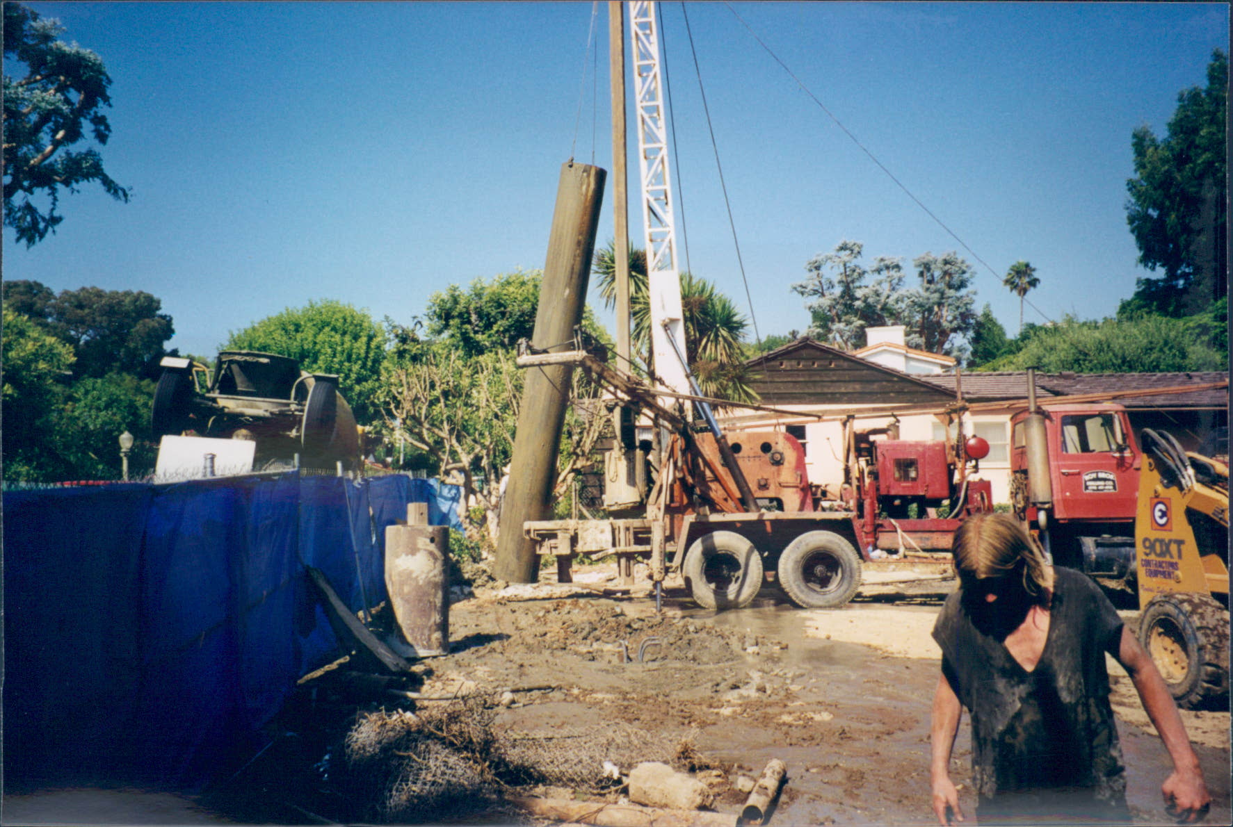 New_Custom_Home_Pacific_Palisades_Pipe_Trenching_3