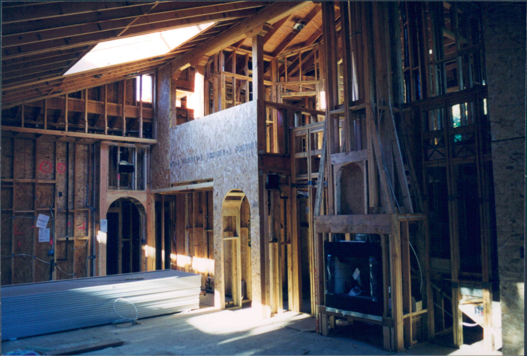 New_Custom_Home_Pacific_Palisades_Interior_Framing_3