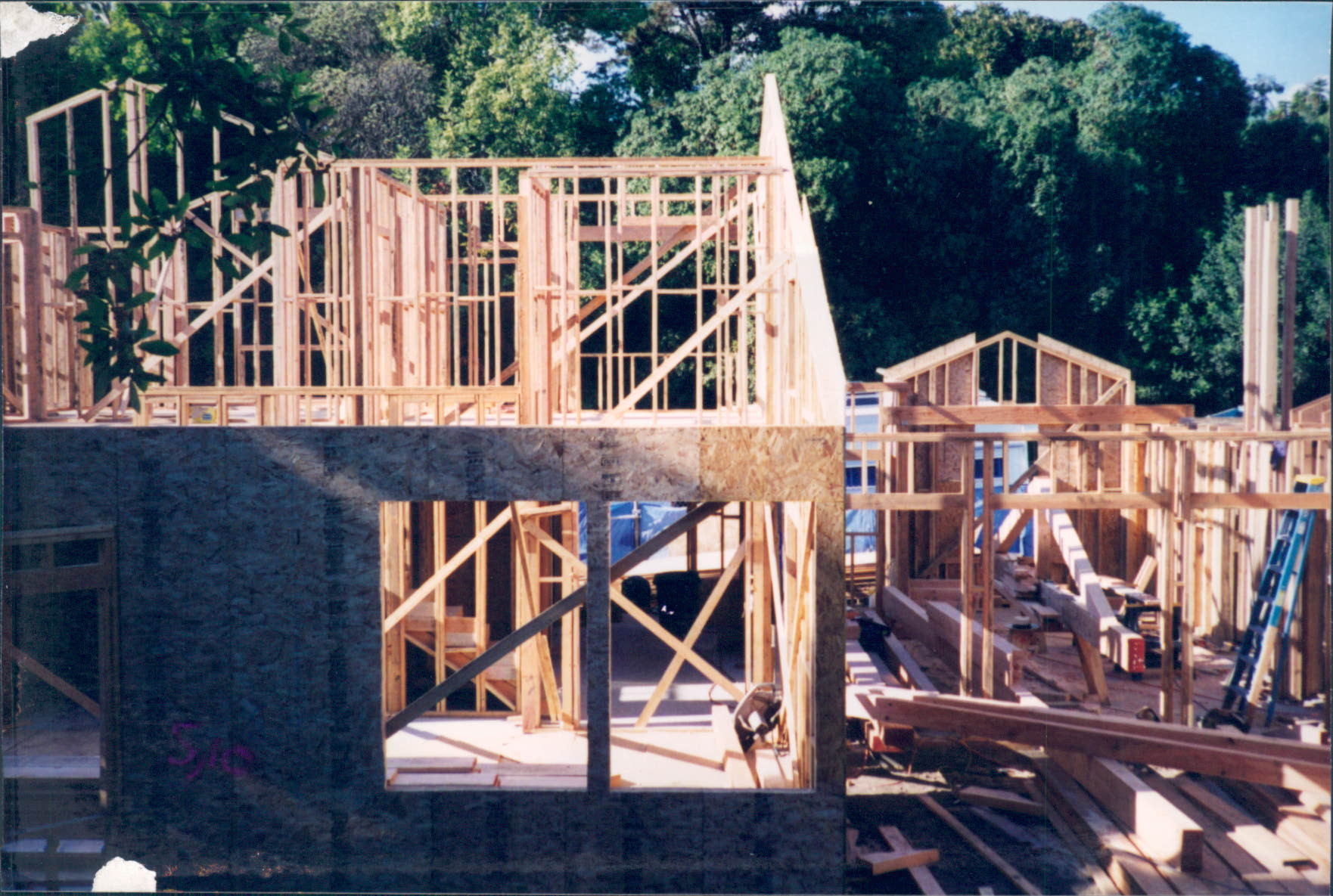 New_Custom_Home_Pacific_Palisades_Rough_Framing_7