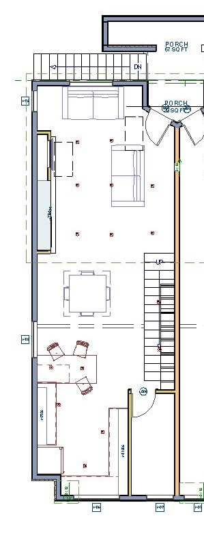 Santa Monica Remodel  floor plan