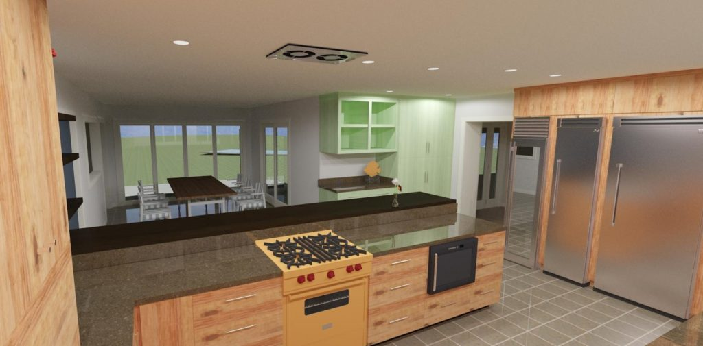 Ojai remodel Kitchen