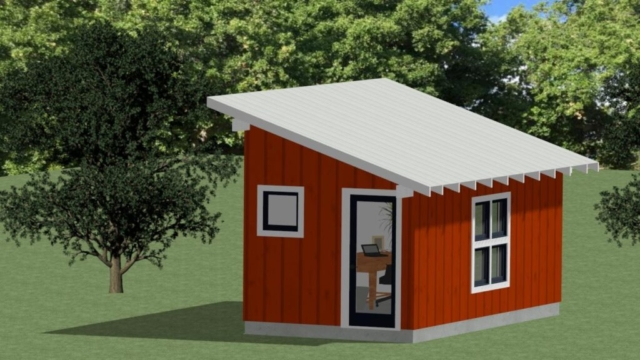Architectural design ADU, sheds, garages, studios
