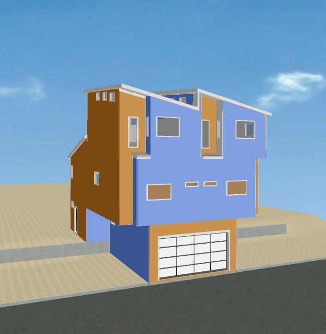 Santa Monica Remodel - color study