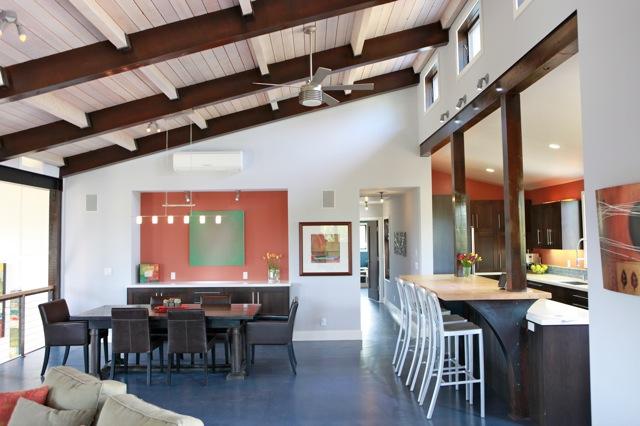 Ojai green home construction